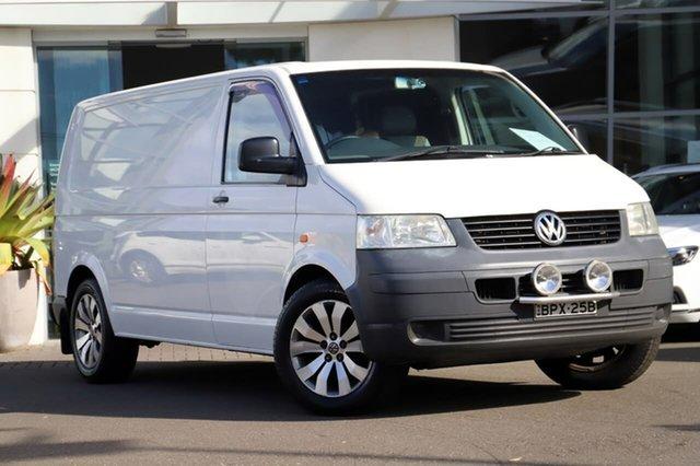 Used Volkswagen Transporter T5 Low Roof LWB Sutherland, 2005 Volkswagen Transporter T5 Low Roof LWB White 5 Speed Manual Van