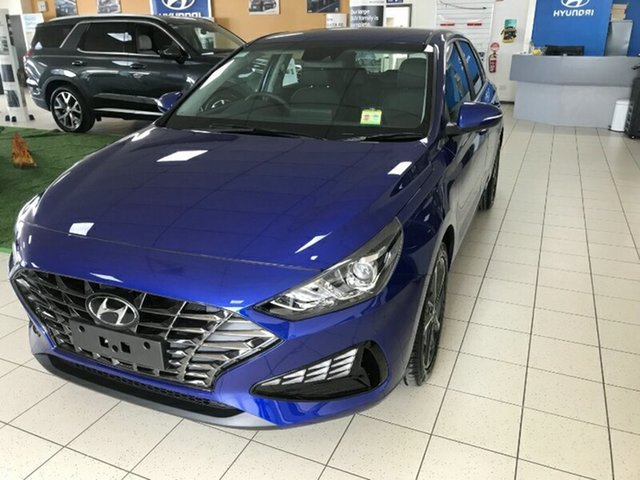 New Hyundai i30 PD.V4 MY21 Active Melton, 2021 Hyundai i30 PD.V4 MY21 Active Intense Blue 6 Speed Sports Automatic Hatchback