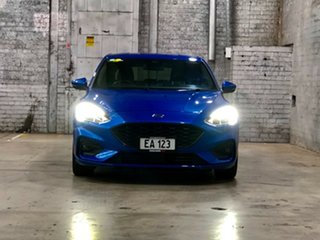 2018 Ford Focus SA 2019MY ST-Line Blue 8 Speed Automatic Hatchback.
