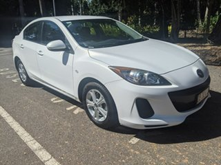 2013 Mazda 3 BL10F2 MY13 Neo White 6 Speed Manual Sedan.