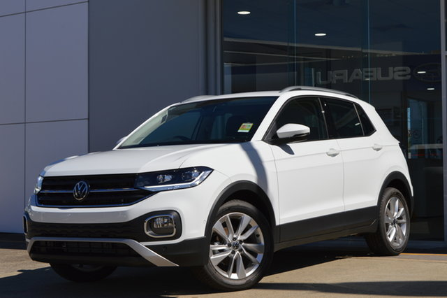 New Volkswagen T-Cross C1 MY21 85TSI DSG FWD Style Maitland, 2021 Volkswagen T-Cross C1 MY21 85TSI DSG FWD Style 0q0q 7 Speed Sports Automatic Dual Clutch Wagon