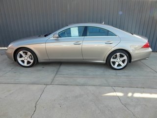 2007 Mercedes-Benz CLS-Class C219 MY08 CLS350 Coupe Silver 7 Speed Sports Automatic Sedan