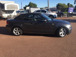 2008 BMW 120i E88 Grey 6 Speed Automatic Convertible.