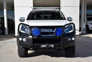 2017 Isuzu D-MAX MY17 LS-Terrain Crew Cab White 6 Speed Sports Automatic Utility.