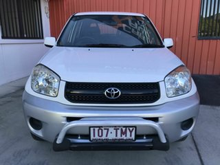 2004 Toyota RAV4 ACA23R CV White 4 Speed Automatic Wagon.