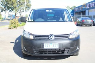 2014 Volkswagen Caddy 2K MY14 Maxi TDI250 White 7 Speed Auto Direct Shift Van.