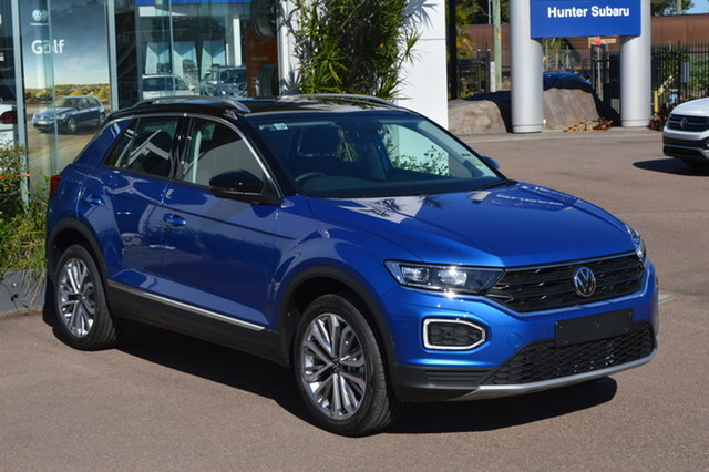 New Volkswagen T-ROC A1 MY21 110TSI Style Maitland, 2021 Volkswagen T-ROC A1 MY21 110TSI Style 5za1 8 Speed Sports Automatic Wagon