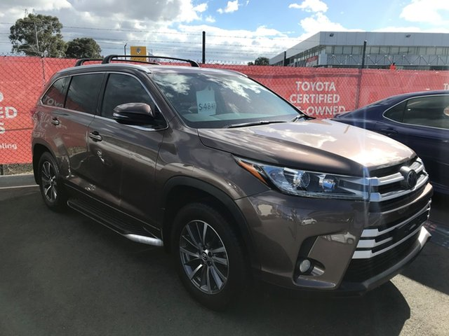 Pre-Owned Toyota Kluger GSU50R GXL 2WD South Morang, 2018 Toyota Kluger GSU50R GXL 2WD Bronze 8 Speed Sports Automatic Wagon