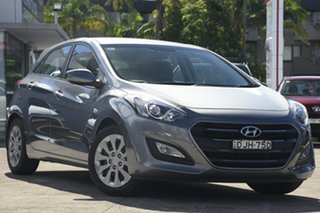 2016 Hyundai i30 GD4 Series 2 Active Grey 6 Speed Automatic Hatchback.