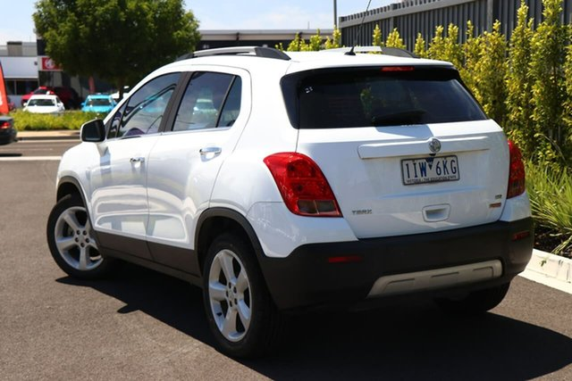 Used Holden Trax TJ MY16 LTZ Essendon Fields, 2016 Holden Trax TJ MY16 LTZ White 6 Speed Automatic Wagon