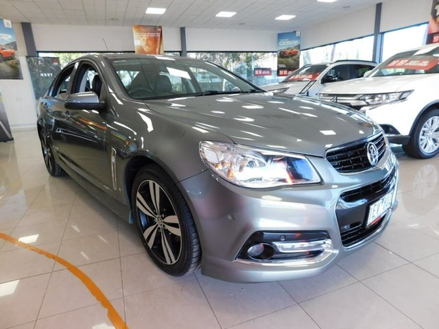 Pre-Owned Holden Commodore VF MY15 SV6 Storm Wonthaggi, 2015 Holden Commodore VF MY15 SV6 Storm Grey 6 Speed Sports Automatic Sedan