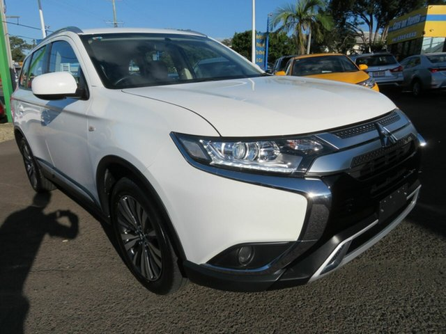 Used Mitsubishi Outlander ZL MY19 ES AWD Mount Gravatt, 2019 Mitsubishi Outlander ZL MY19 ES AWD White 6 Speed Constant Variable Wagon