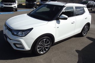 2019 Ssangyong Tivoli X100 Ultimate AWD White 6 Speed Sports Automatic Wagon