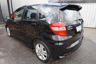 2012 Honda Jazz GE MY12 Vibe-S Crystal Black 5 Speed Automatic Hatchback.