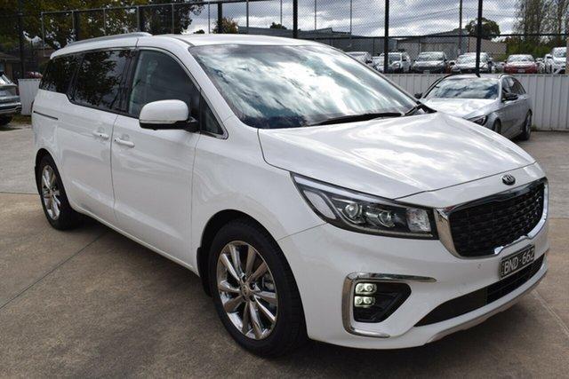 Used Kia Carnival YP MY20 Platinum Ferntree Gully, 2020 Kia Carnival YP MY20 Platinum Clear White 8 Speed Sports Automatic Wagon