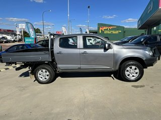 2016 Holden Colorado RG MY16 LS Crew Cab 4x2 Grey 6 Speed Sports Automatic Cab Chassis