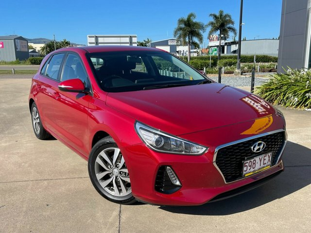 Used Hyundai i30 PD MY18 Active Townsville, 2018 Hyundai i30 PD MY18 Active Red/310518 6 Speed Sports Automatic Hatchback