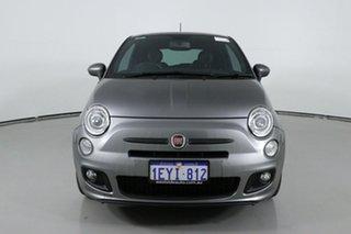 2013 Fiat 500 MY13 Sport Grey 5 Speed Automatic Hatchback.