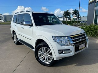 2020 Mitsubishi Pajero NX MY21 Exceed White/250221 5 Speed Sports Automatic Wagon.