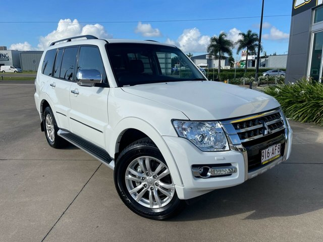 Used Mitsubishi Pajero NX MY21 Exceed Townsville, 2020 Mitsubishi Pajero NX MY21 Exceed White/250221 5 Speed Sports Automatic Wagon
