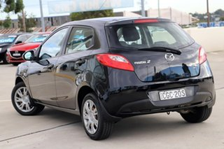 2012 Mazda 2 DE10Y2 MY12 Neo Black 5 Speed Manual Hatchback