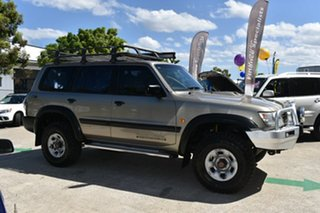 2001 Nissan Patrol GU II ST (4x4) Gold 5 Speed Manual 4x4 Wagon
