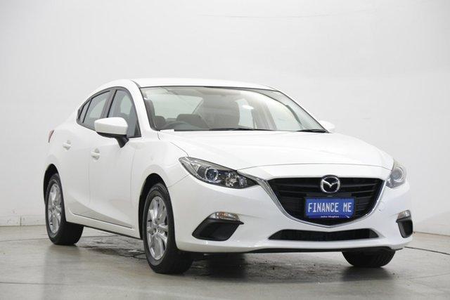 Used Mazda 3 BM5278 Neo SKYACTIV-Drive Victoria Park, 2015 Mazda 3 BM5278 Neo SKYACTIV-Drive White 6 Speed Sports Automatic Sedan