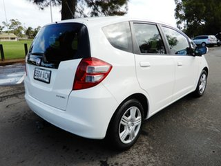 2008 Honda Jazz GE MY09 VTi White 5 Speed Automatic Hatchback