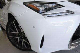 2016 Lexus RC GSC10R RC350 F Sport White 8 Speed Sports Automatic Coupe.
