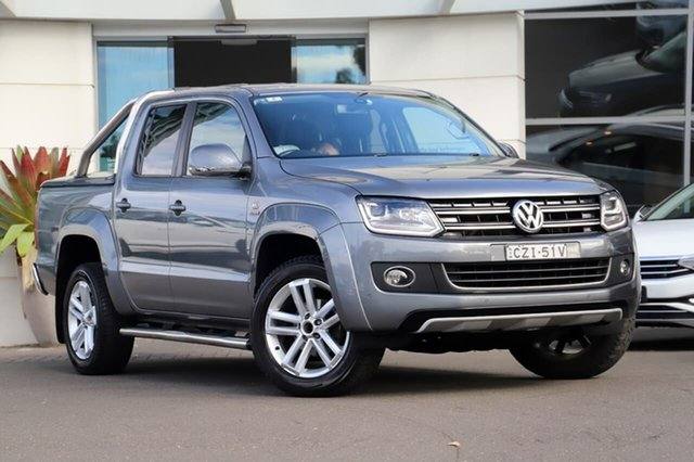 Used Volkswagen Amarok 2H MY14 TDI420 4Motion Perm Ultimate Sutherland, 2014 Volkswagen Amarok 2H MY14 TDI420 4Motion Perm Ultimate Grey 8 Speed Automatic Utility