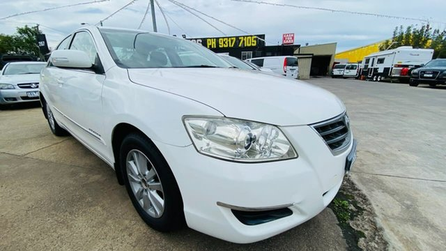 Used Toyota Aurion GSV40R AT-X Maidstone, 2007 Toyota Aurion GSV40R AT-X White 6 Speed Sports Automatic Sedan