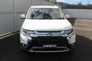 2020 Mitsubishi Outlander ZL MY21 Exceed AWD White 6 Speed Sports Automatic Wagon.