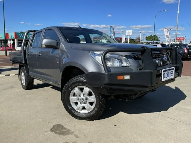 Used Holden Colorado RG MY16 LS Crew Cab 4x2 Victoria Park, 2016 Holden Colorado RG MY16 LS Crew Cab 4x2 Grey 6 Speed Sports Automatic Cab Chassis
