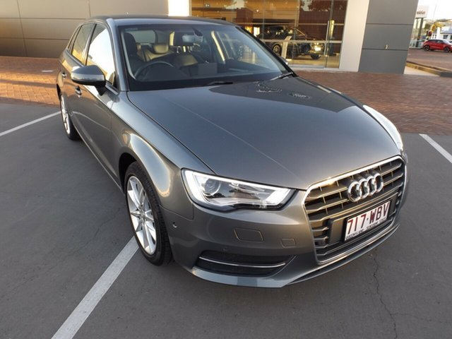 Used Audi A3 8V MY15 Attraction Sportback S Tronic Toowoomba, 2015 Audi A3 8V MY15 Attraction Sportback S Tronic 7 Speed Sports Automatic Dual Clutch Hatchback