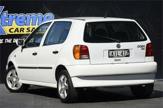 1999 Volkswagen Polo A03 White 4 Speed Automatic Hatchback