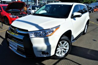 2014 Toyota Kluger GSU50R GX 2WD White 6 Speed Sports Automatic Wagon.