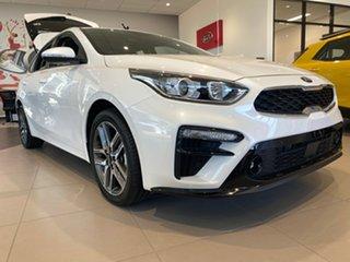 2021 Kia Cerato BD MY21 Sport+ Snow White Pearl 6 Speed Sports Automatic Hatchback.