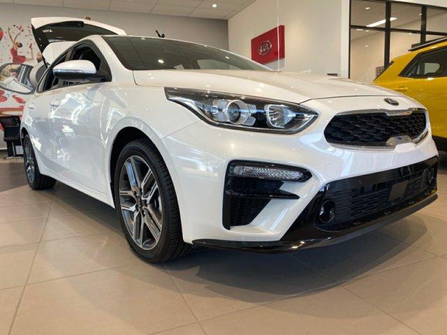 New Kia Cerato BD MY21 Sport+ Cheltenham, 2021 Kia Cerato BD MY21 Sport+ Snow White Pearl 6 Speed Sports Automatic Hatchback
