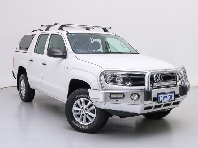 Used Volkswagen Amarok 2H MY16 TDI420 Core Edition (4x4), 2016 Volkswagen Amarok 2H MY16 TDI420 Core Edition (4x4) White 8 Speed Automatic Dual Cab Utility