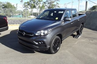 2020 Ssangyong Musso Q201 MY20.5 Ultimate Crew Cab XLV Grey 6 Speed Sports Automatic Utility