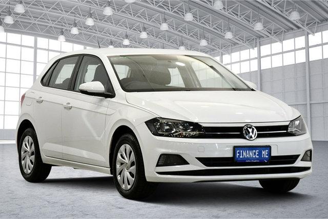 Used Volkswagen Polo AW MY18 70TSI Trendline Victoria Park, 2018 Volkswagen Polo AW MY18 70TSI Trendline White 5 Speed Manual Hatchback