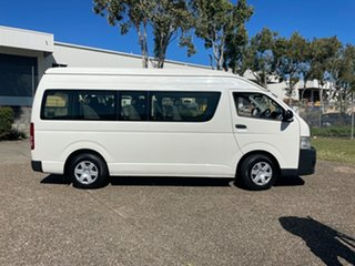 2012 Toyota HiAce TRH223R MY12 Upgrade Commuter White 4 Speed Automatic Bus.