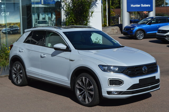 New Volkswagen T-ROC A1 MY21 140TSI DSG 4MOTION Sport Maitland, 2021 Volkswagen T-ROC A1 MY21 140TSI DSG 4MOTION Sport K8k8 7 Speed Sports Automatic Dual Clutch
