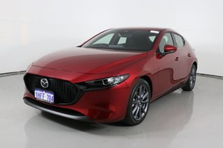 2020 Mazda 3 BP G20 Evolve Red 6 Speed Automatic Hatchback.