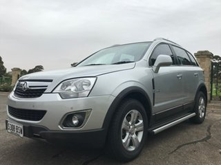2011 Holden Captiva CG Series II 5 Silver 6 Speed Sports Automatic Wagon.