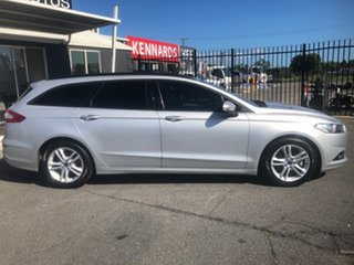 2017 Ford Mondeo MD Ambiente TDCi Silver 6 Speed Automatic Wagon.