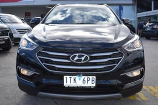 2017 Hyundai Santa Fe DM4 MY18 Active Black 6 Speed Sports Automatic Wagon.