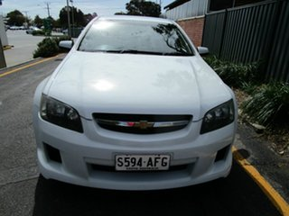 2009 Holden Commodore VE MY09.5 SV6 White 5 Speed Automatic Sportswagon.