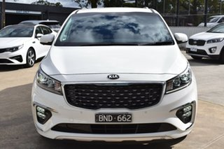 2020 Kia Carnival YP MY20 Platinum Clear White 8 Speed Sports Automatic Wagon.
