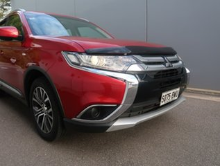 2017 Mitsubishi Outlander ZK MY18 LS AWD Safety Pack Red 6 Speed Constant Variable Wagon